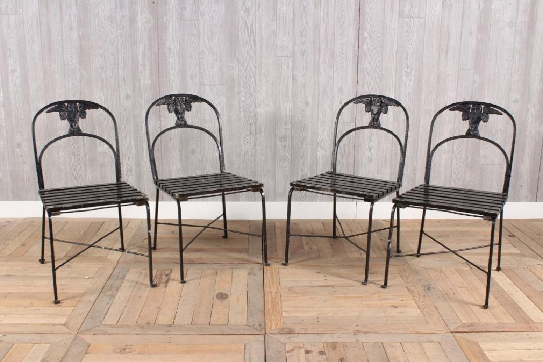 4 Morgan Colt Chairs