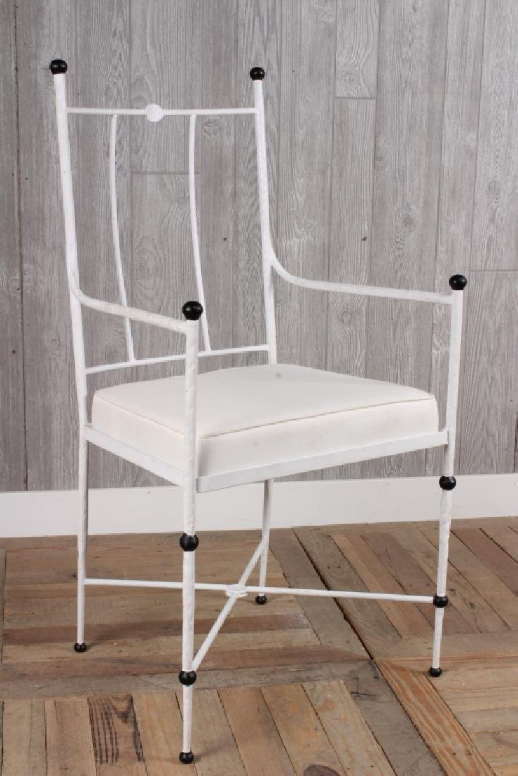 Wrought Iron Arm Chair