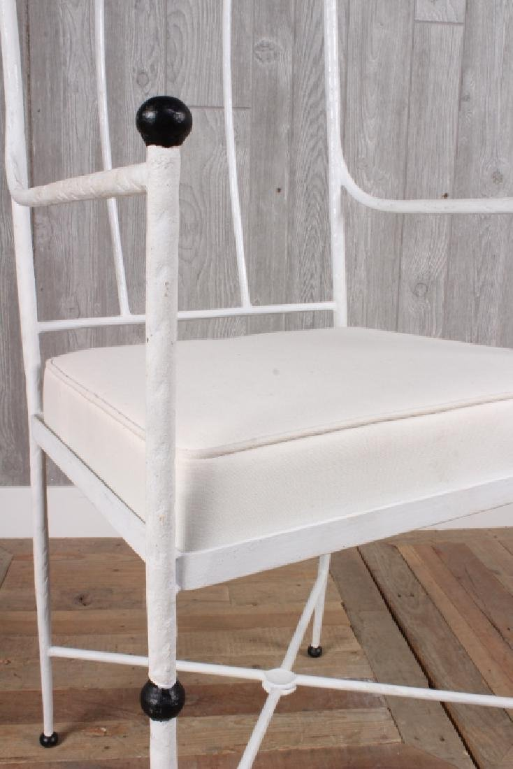 Wrought Iron Arm Chair - 2