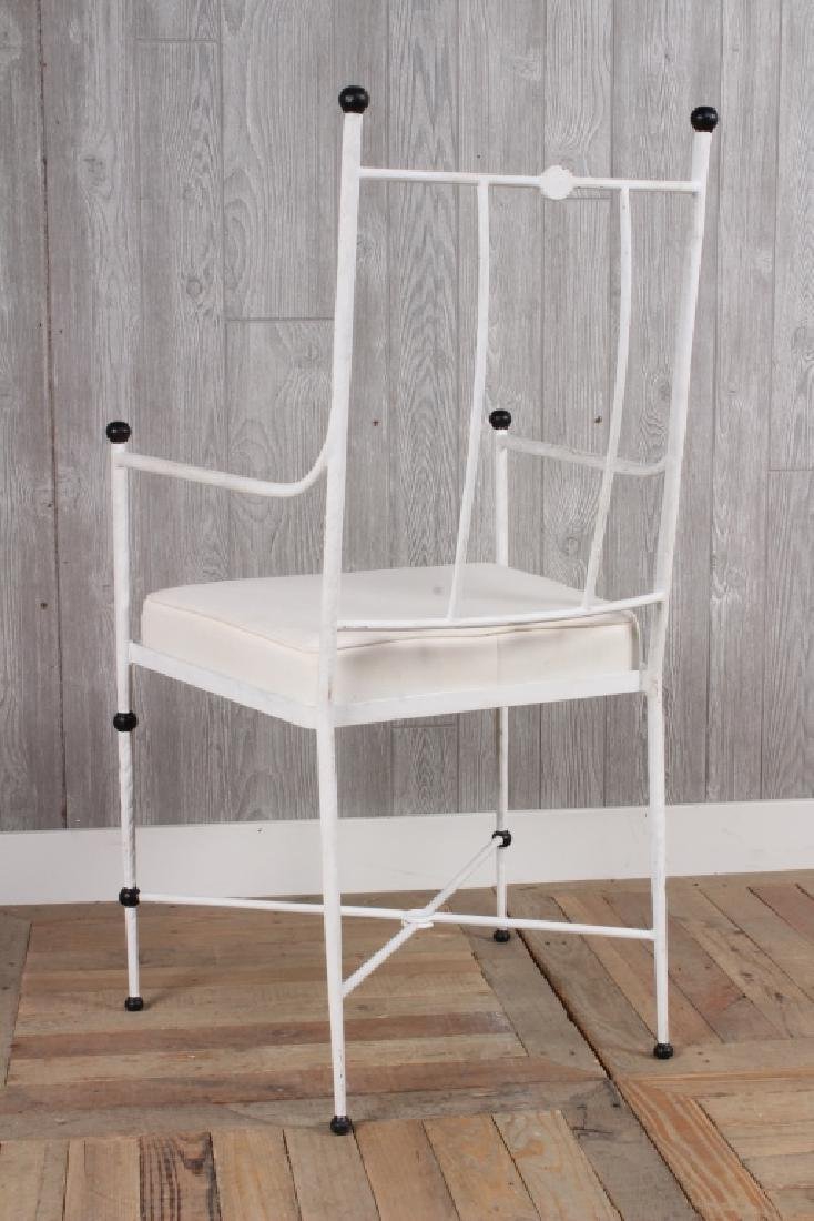 Wrought Iron Arm Chair - 3