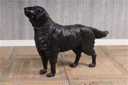 Cast Iron Standing Dog