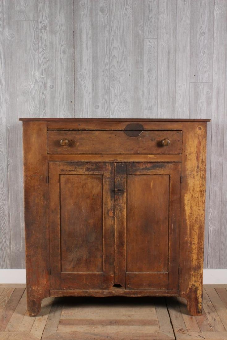 19th Century American Cupboard