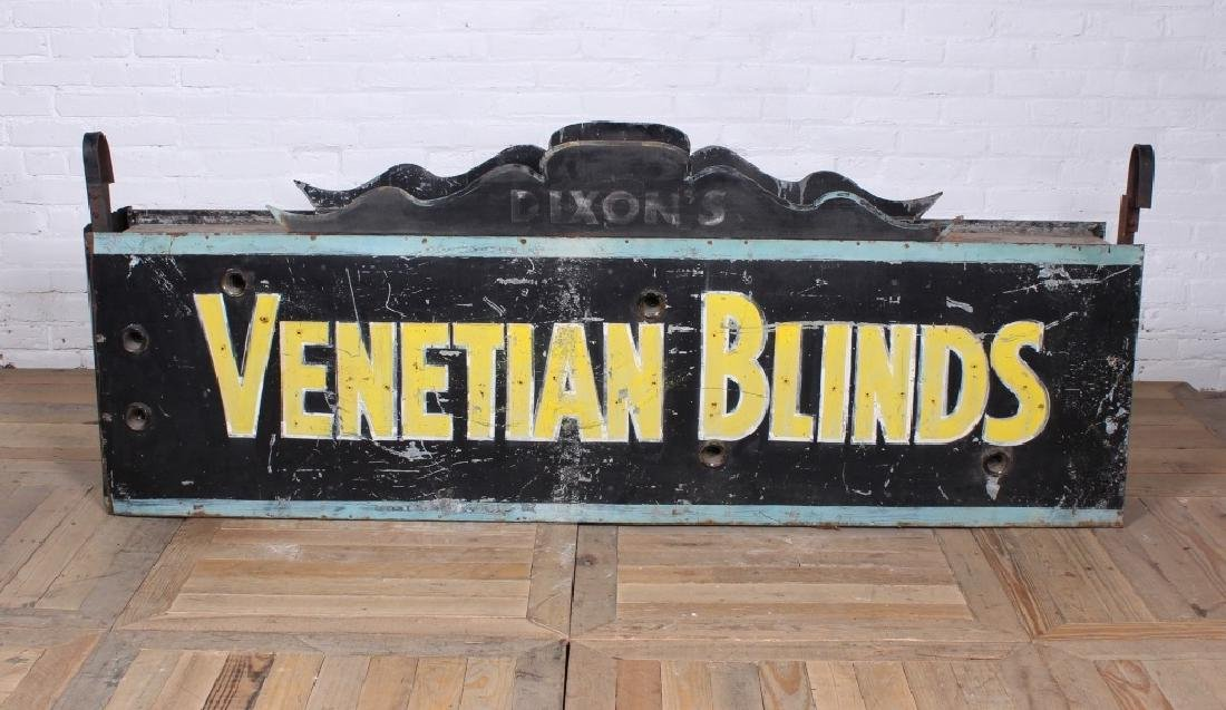 Vintage Double Sided Advertising Sign