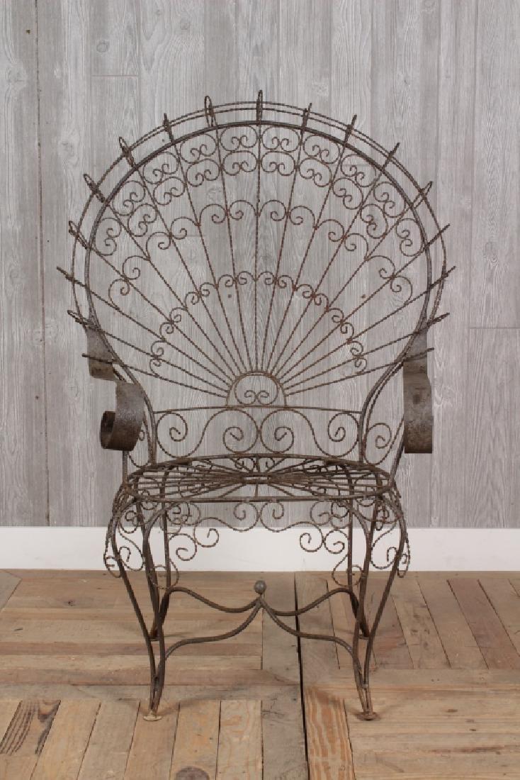 Wirework Garden Chair