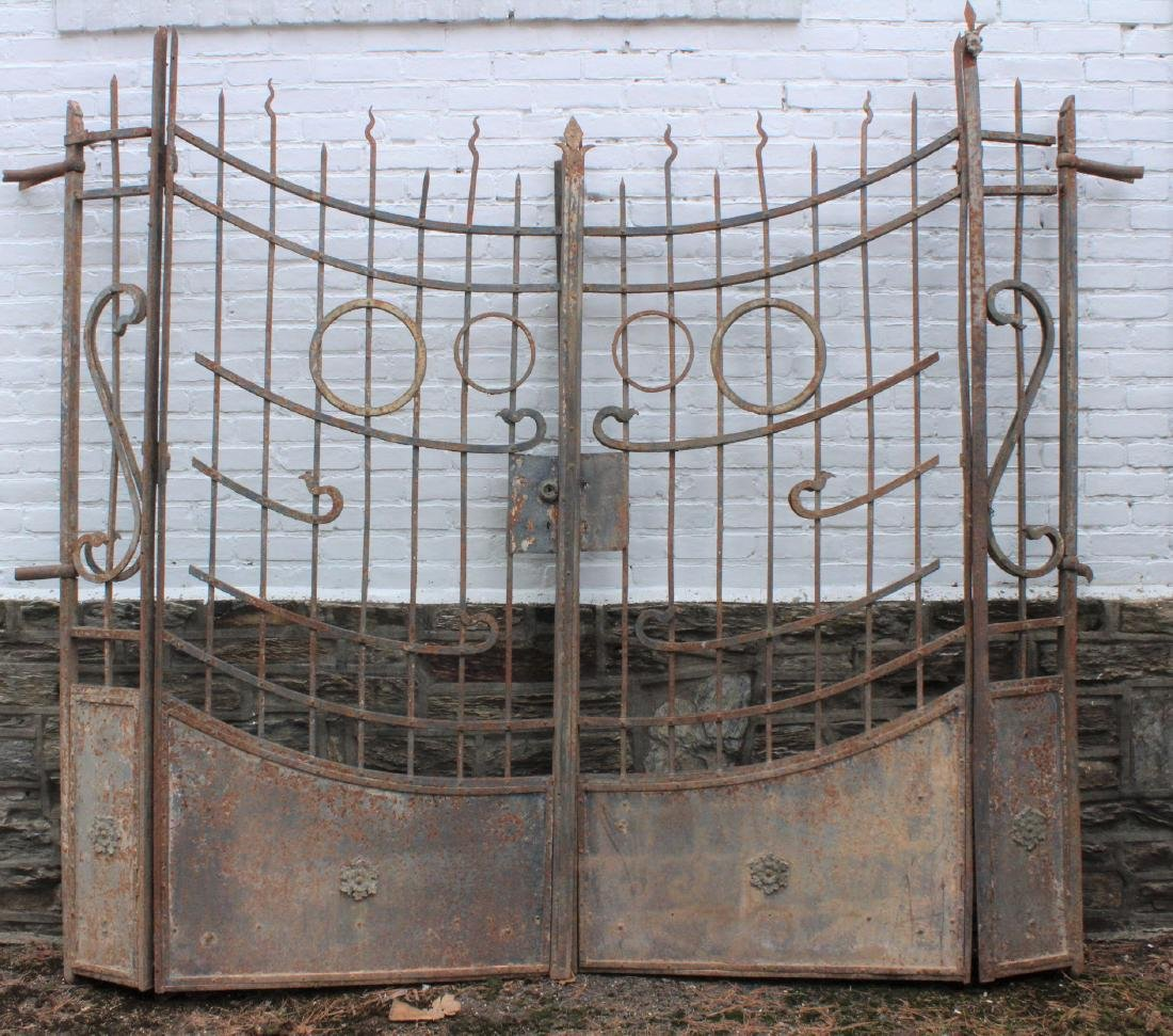 Art Deco Style Entry Gates