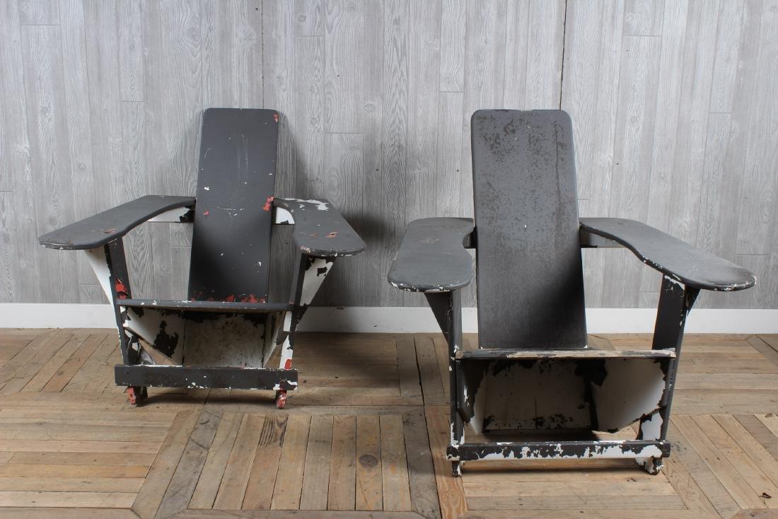 Pair Westport Style Adirondack Chairs