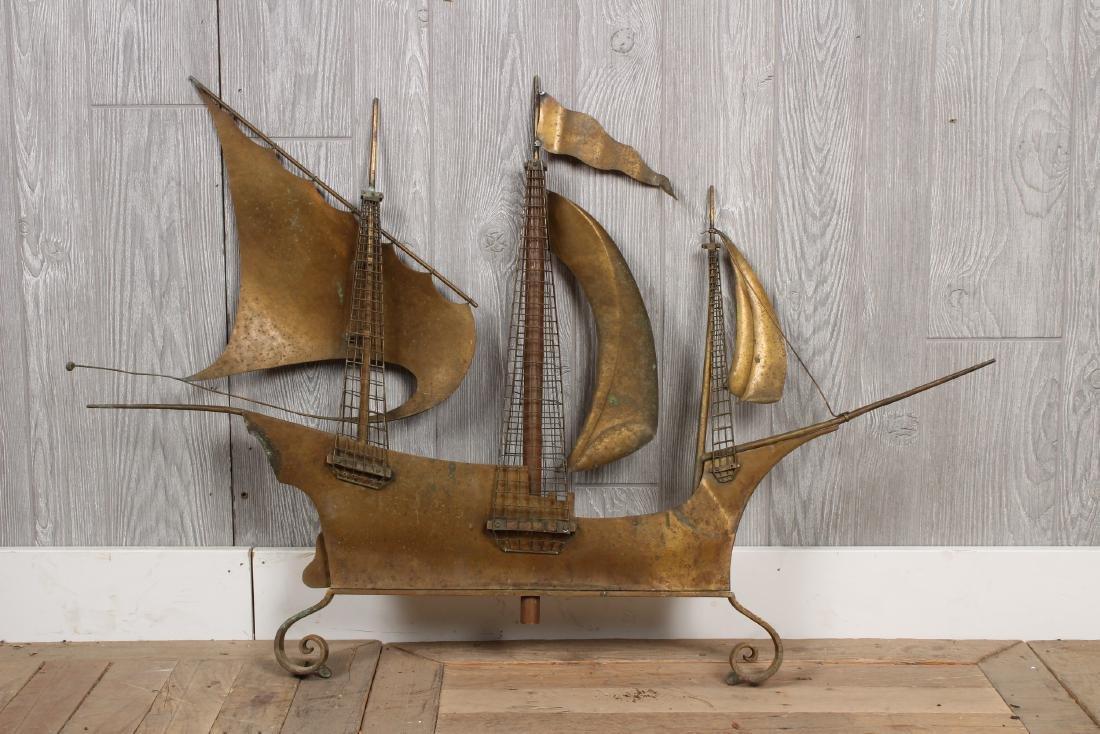 Sailing Ship Waethervane