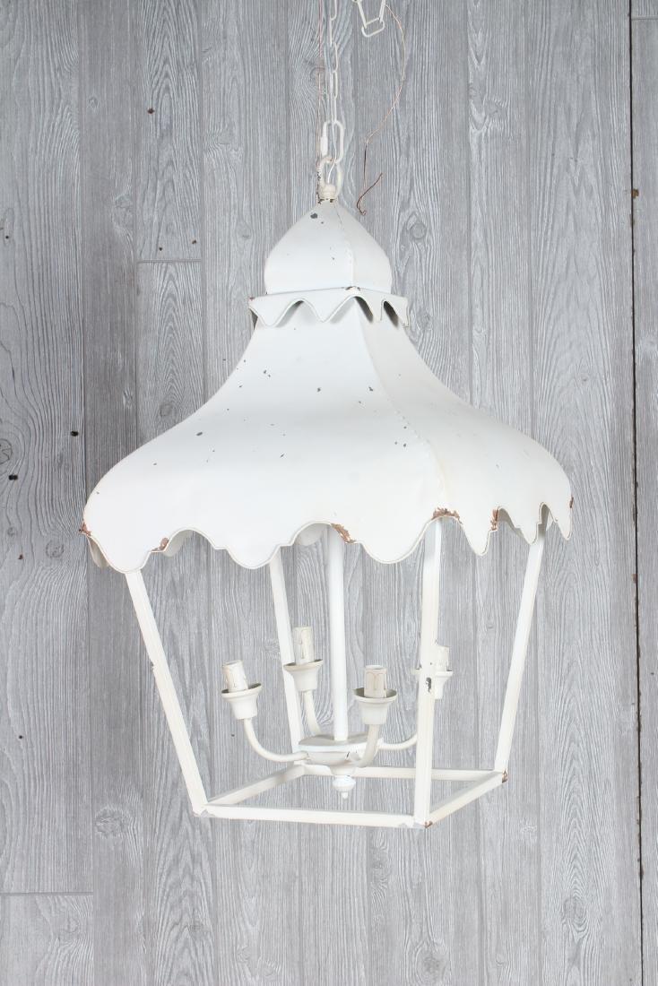 Tole Porch Lantern