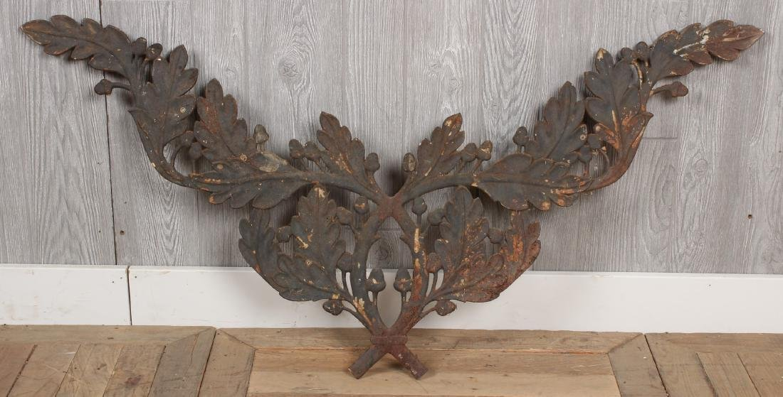 Cast Iron Festoon Applique