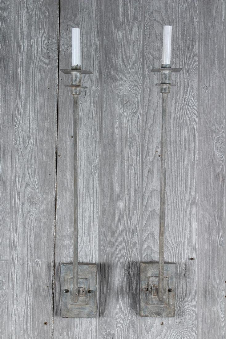 Pair Festonie Wall Sconces