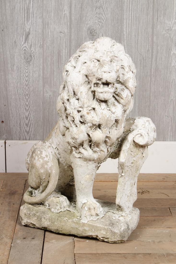 Cast Stone Lion
