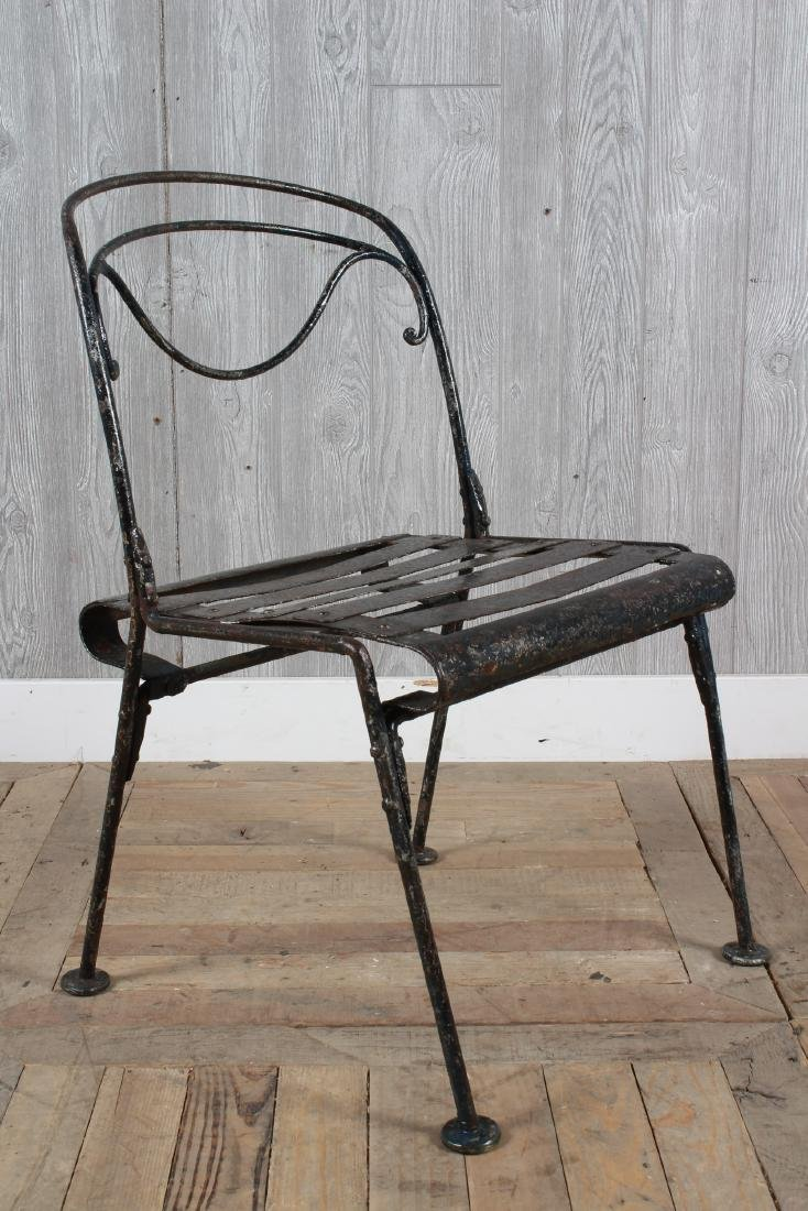 French Wrought Iron Garden Chair