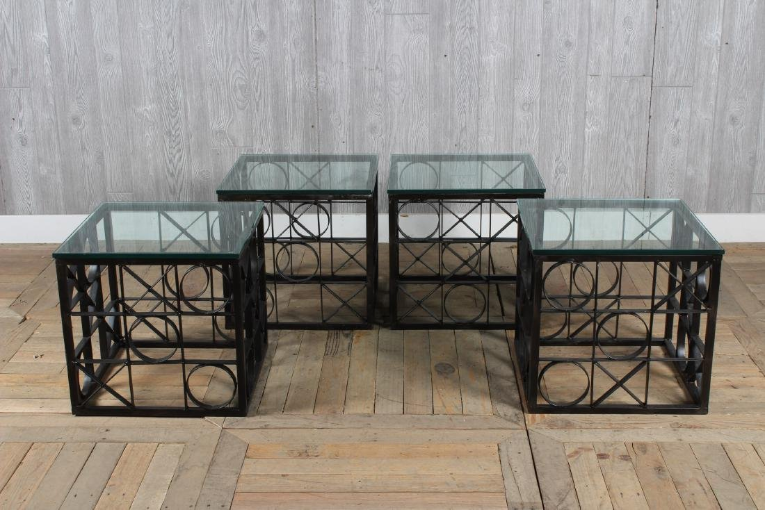 4 Tic Tac Toe Theme Occasional Tables