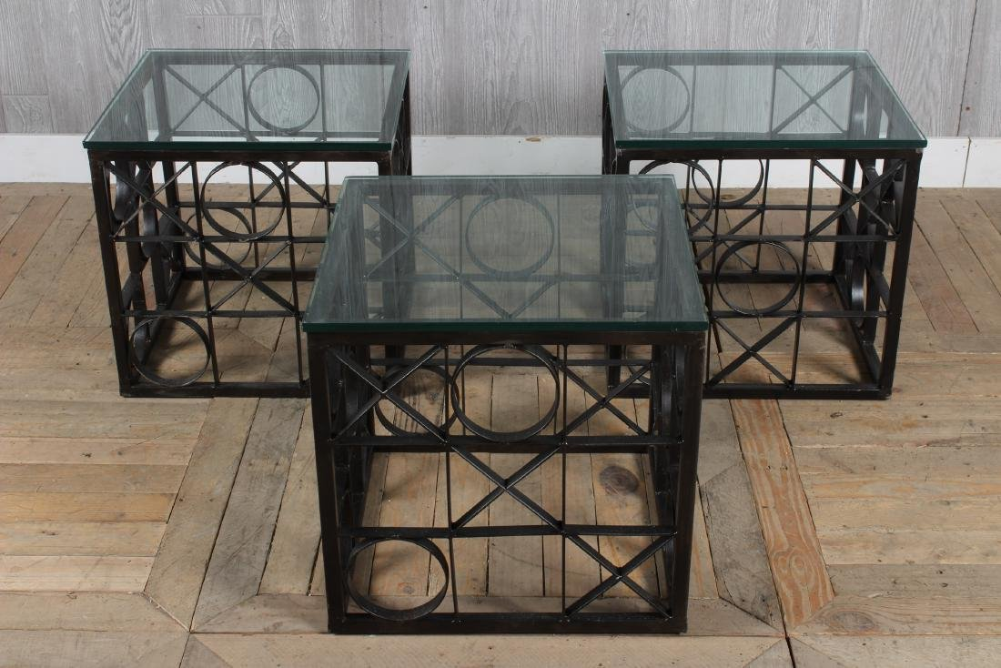 3 Tic Tac Toe Theme Occasional Tables