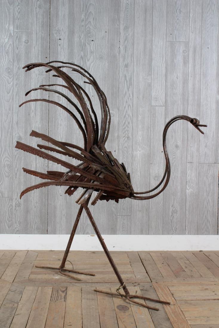 Studio Made Brutalist Roadrunner Sculpture
