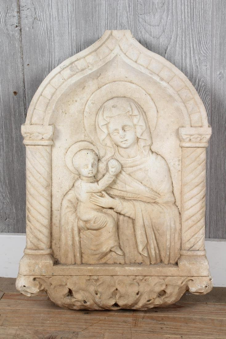 Madonna and Child Niche