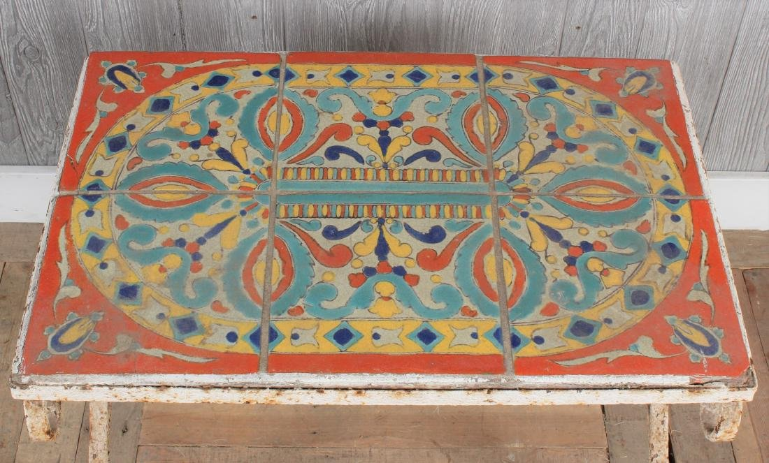 Catalina Style Tile Table