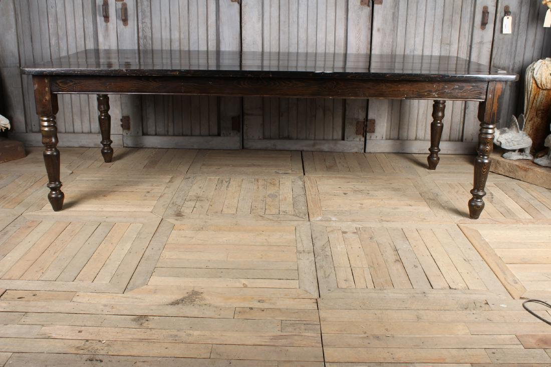 Stained Pine Country Table