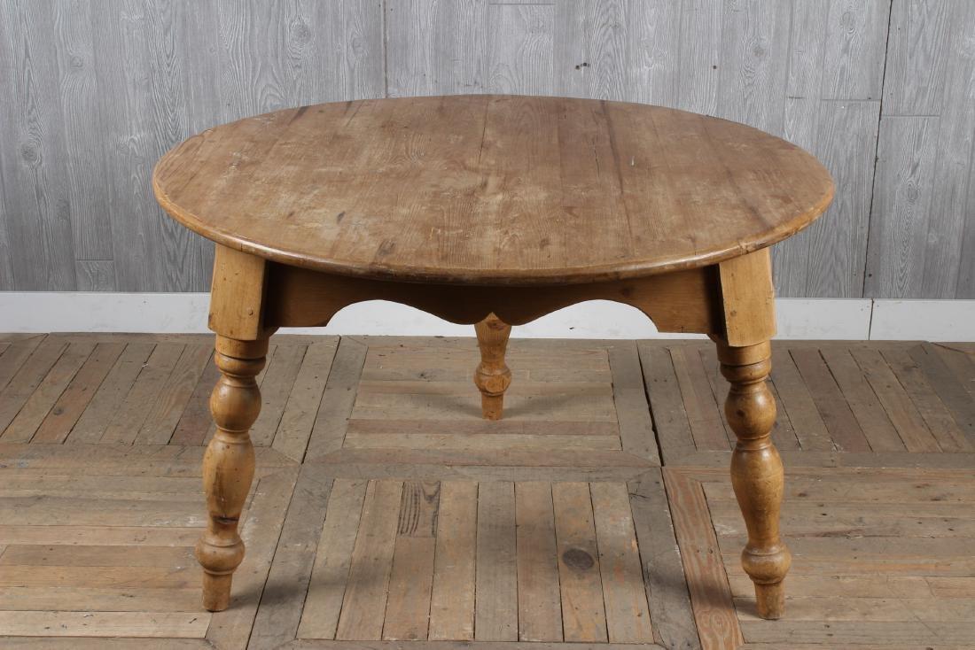 English Pine Farm Table