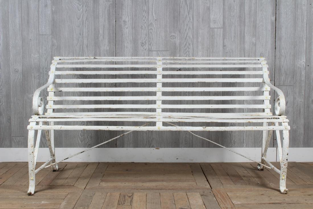 English Strap Bench
