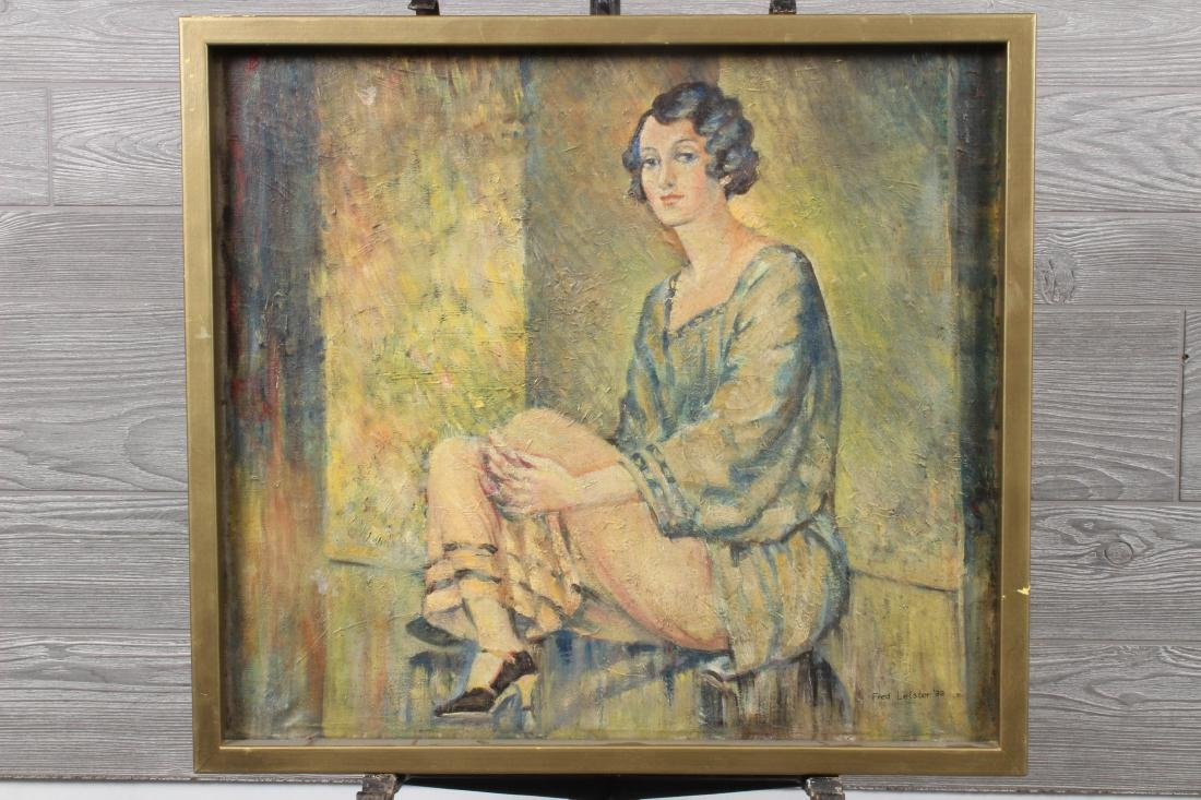 Fred Leister (American 20th C) Flapper Show Girl