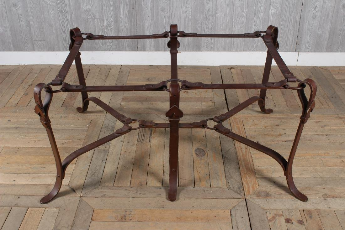 Bridle Buckle Theme Low Table