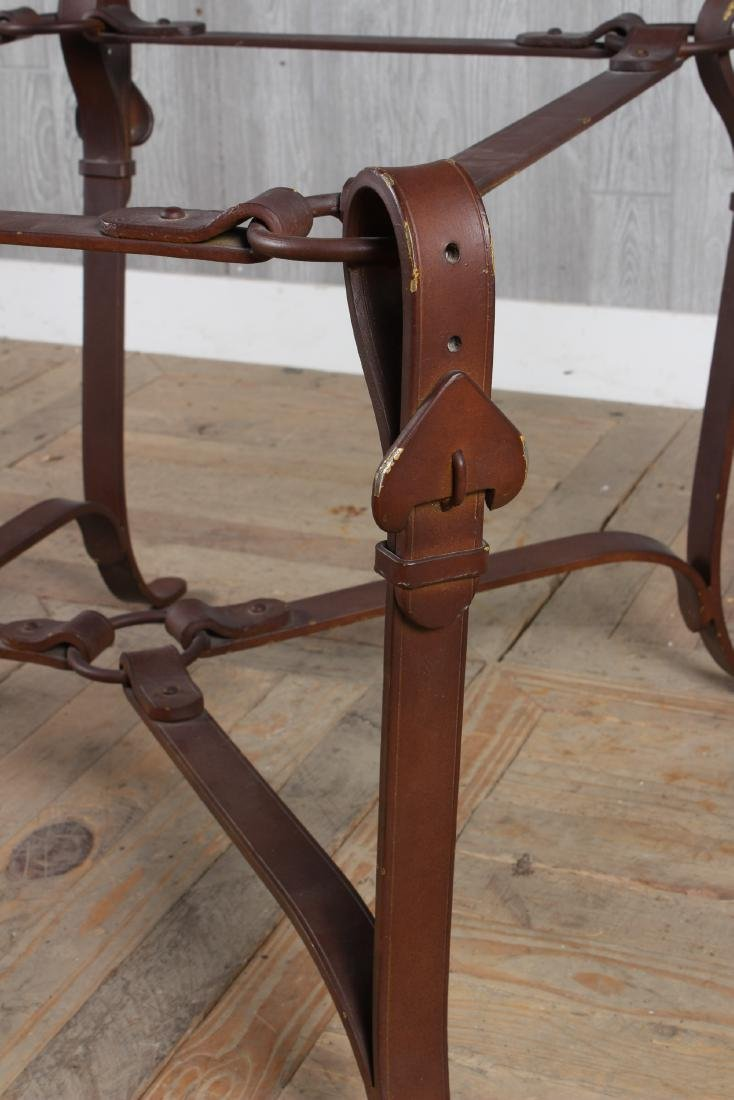 Bridle Buckle Theme Low Table - 2