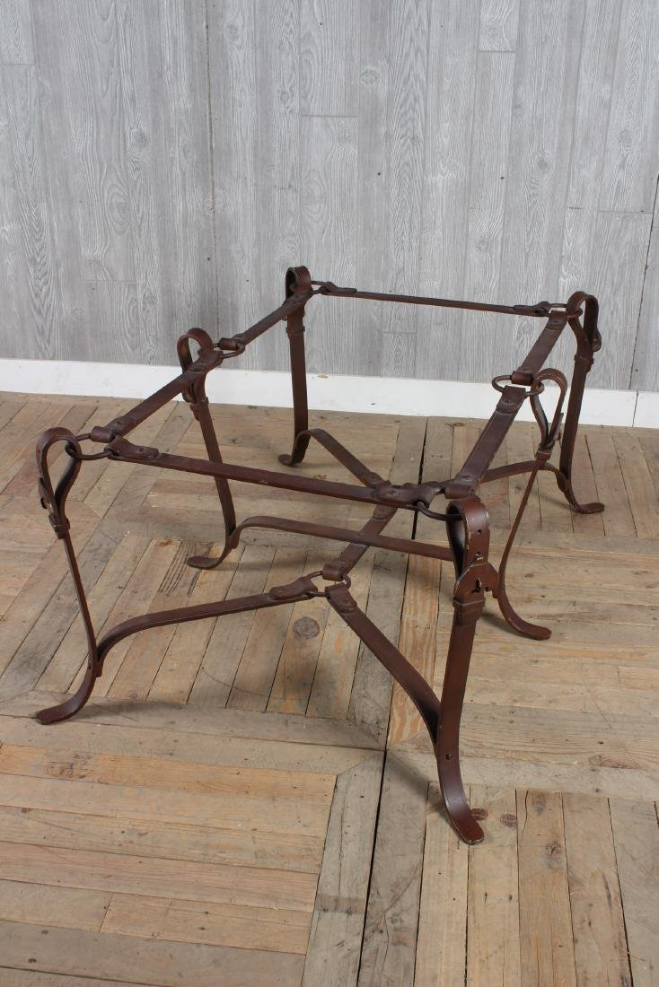Bridle Buckle Theme Low Table - 3