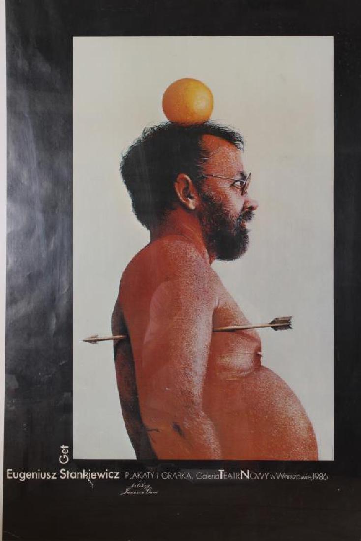2 Polish Art Exhibition Posters - 2