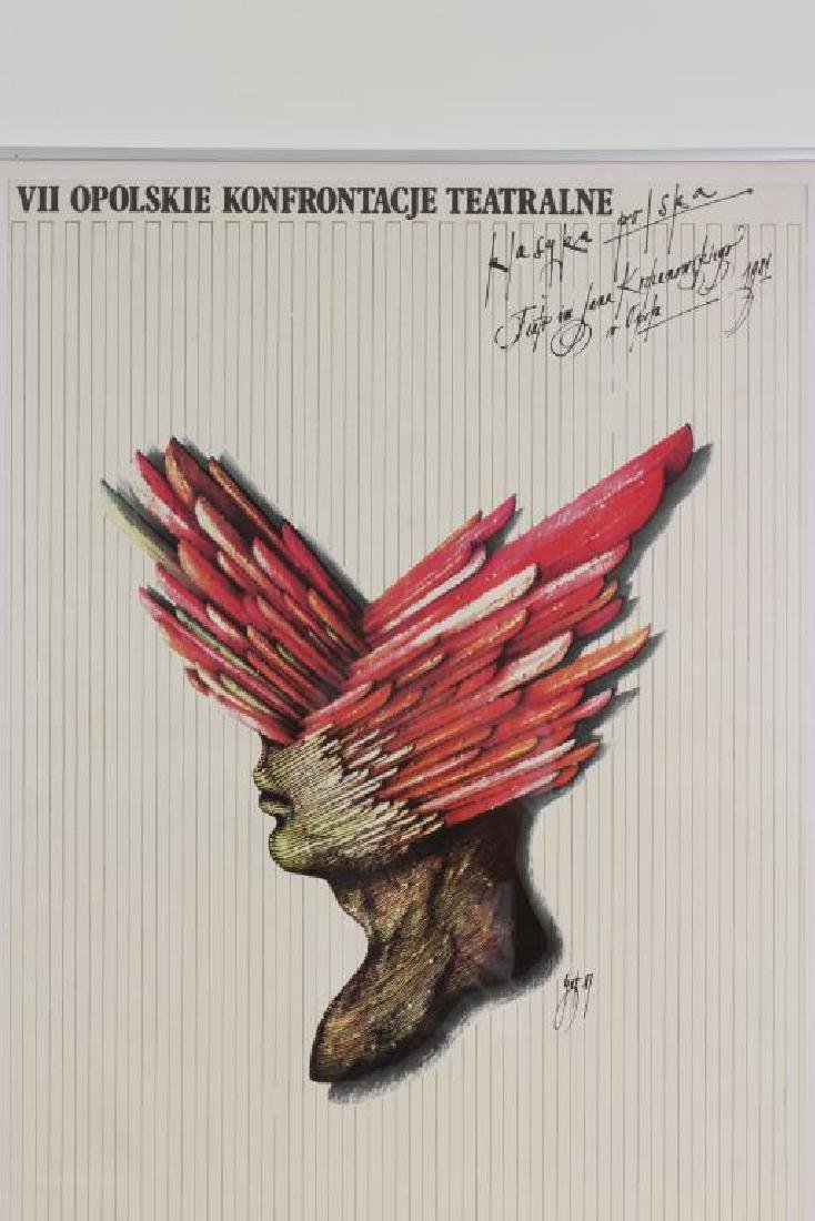 2 Polish Art Exhibition Posters - 3