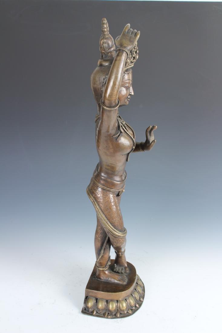 Contemporary Bronze Nepalese Tara - 2