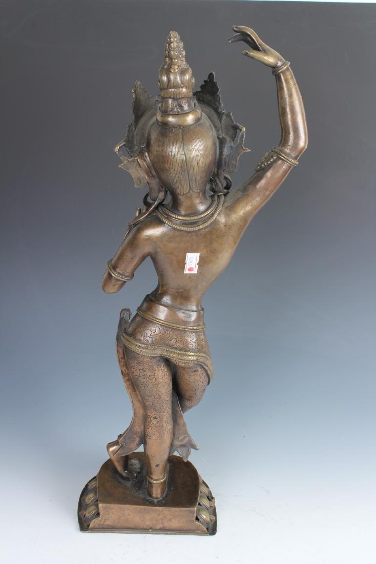 Contemporary Bronze Nepalese Tara - 3