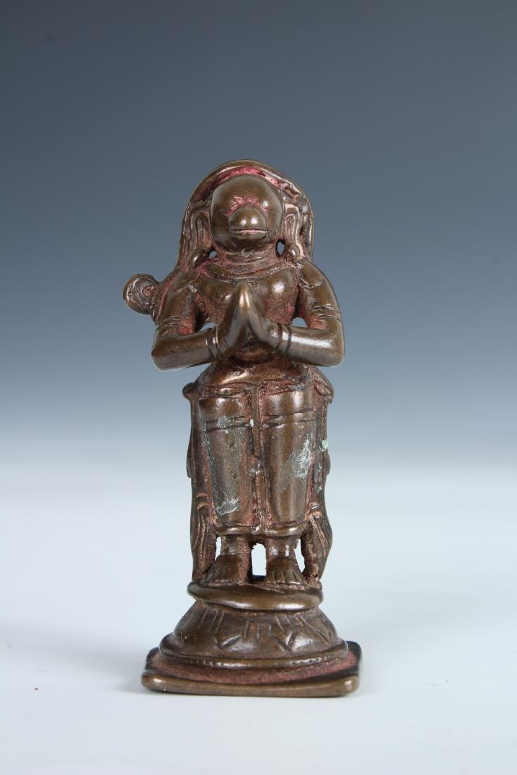 Antique Bronze Indian Statue