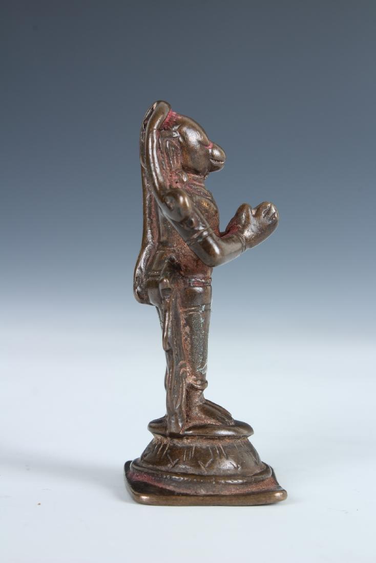 Antique Bronze Indian Statue - 2