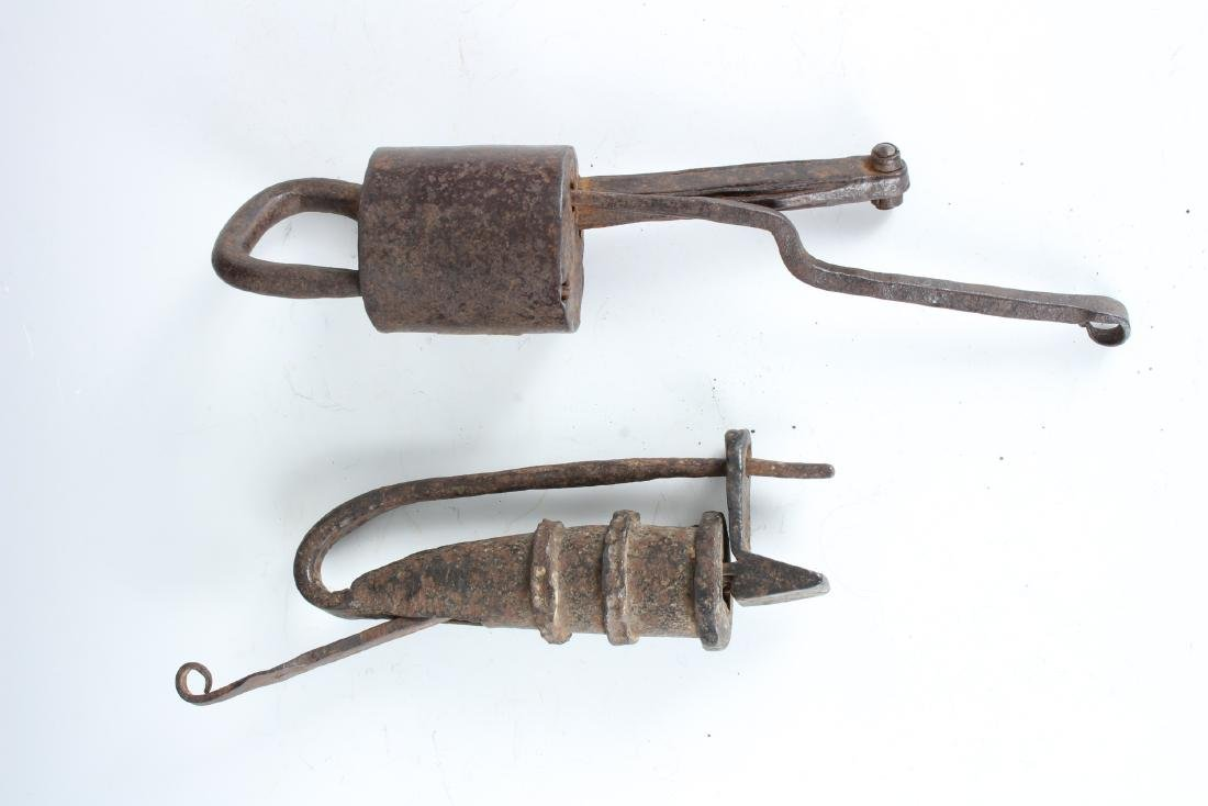 2 Antique Asian Traditional Locks
