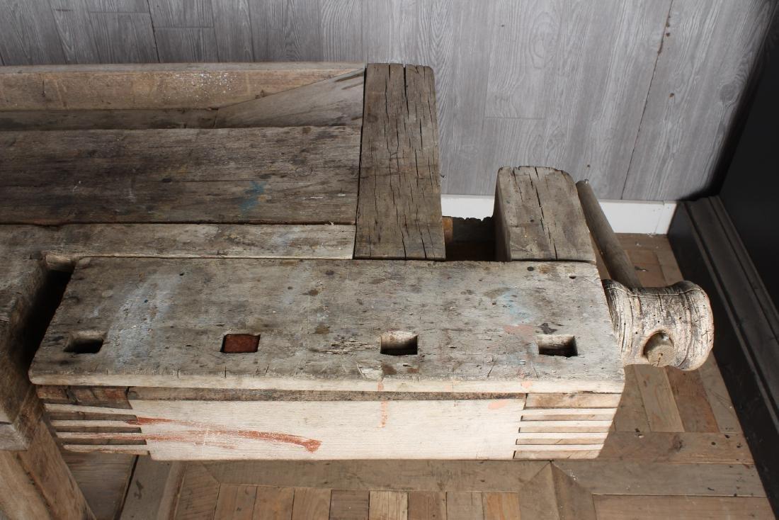 Antique Carpenter's Bench - 2