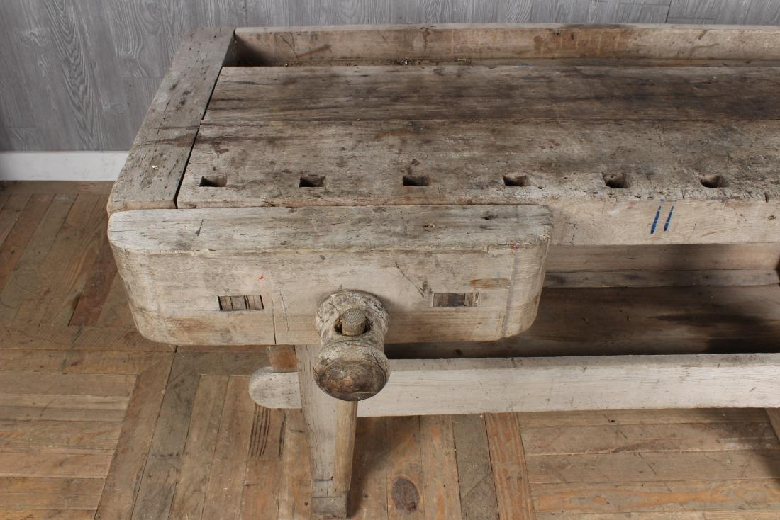 Antique Carpenter's Bench - 3