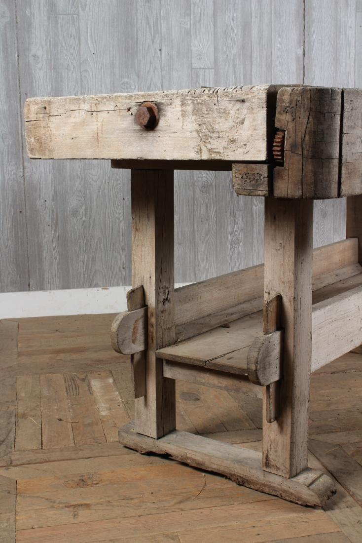 Antique Carpenter's Bench - 5