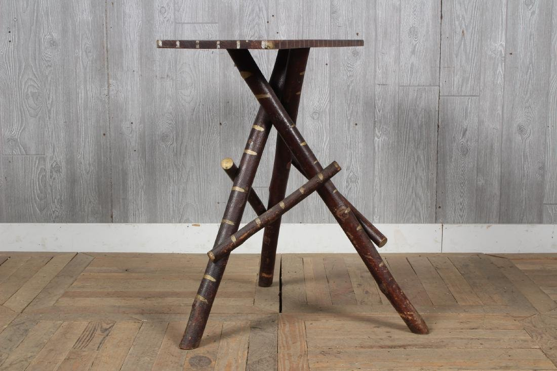 Rustic  Adirondack Twig Console Table - 3