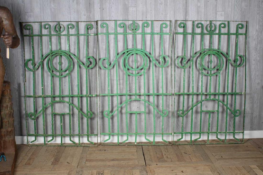 Wrought Iron Garden Trellis Panels