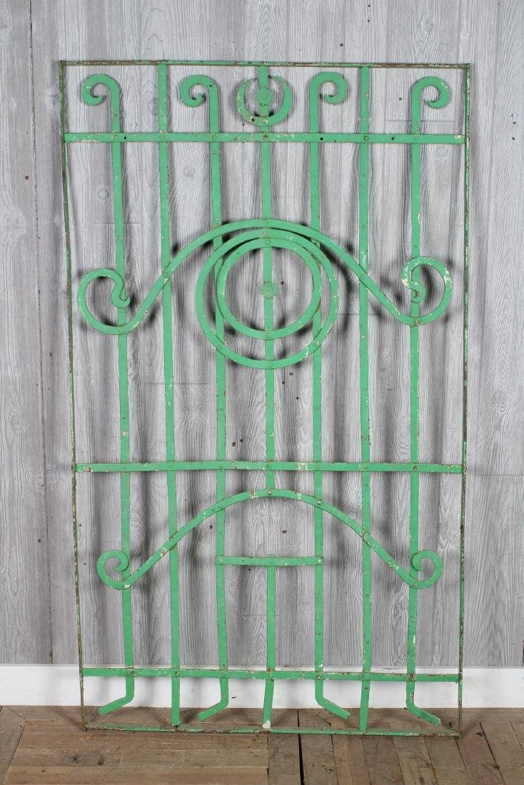 Wrought Iron Garden Trellis Panels - 2