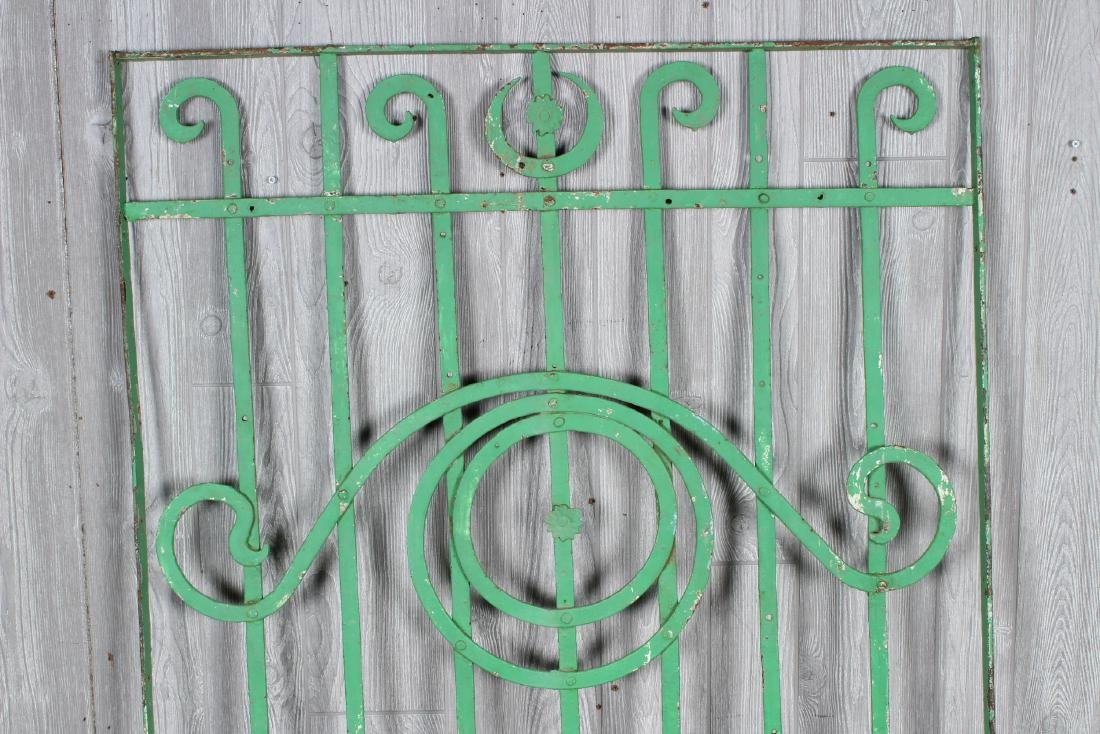 Wrought Iron Garden Trellis Panels - 3