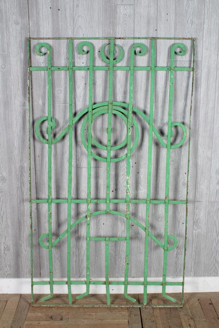 Wrought Iron Garden Trellis Panels - 4