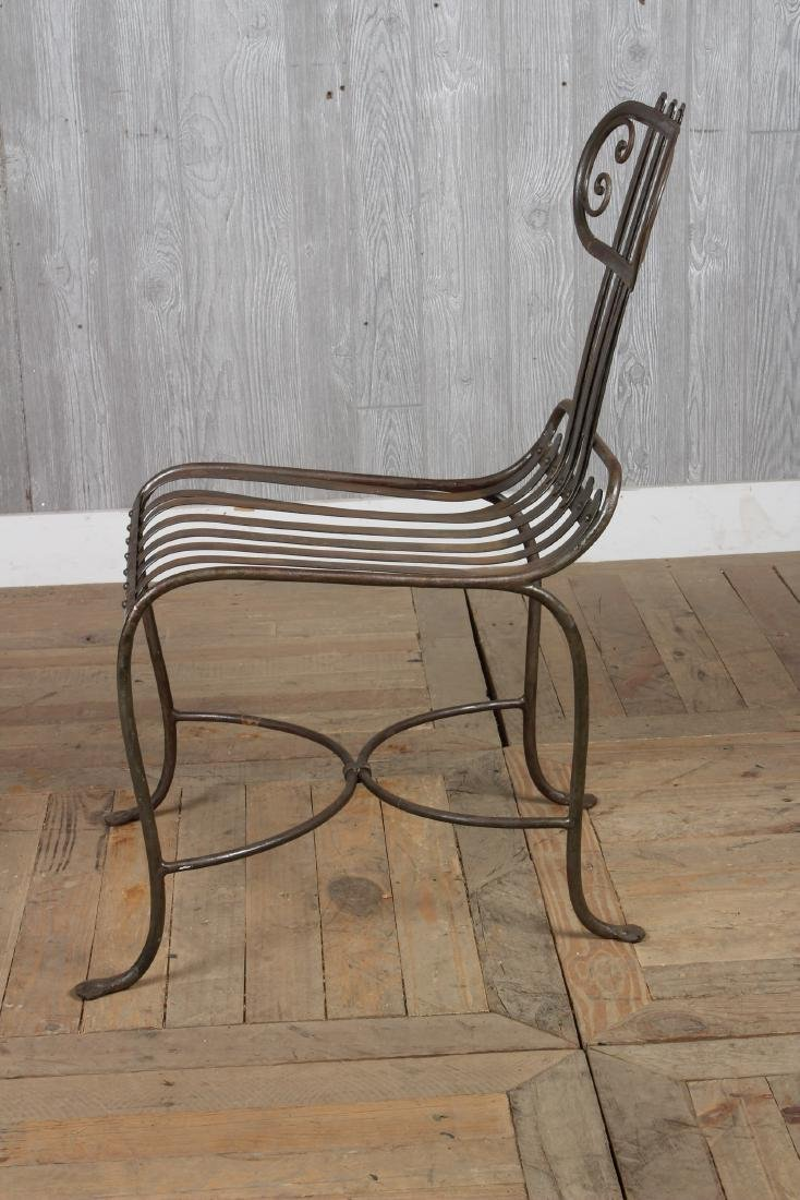 French Strap Work Chair - 3