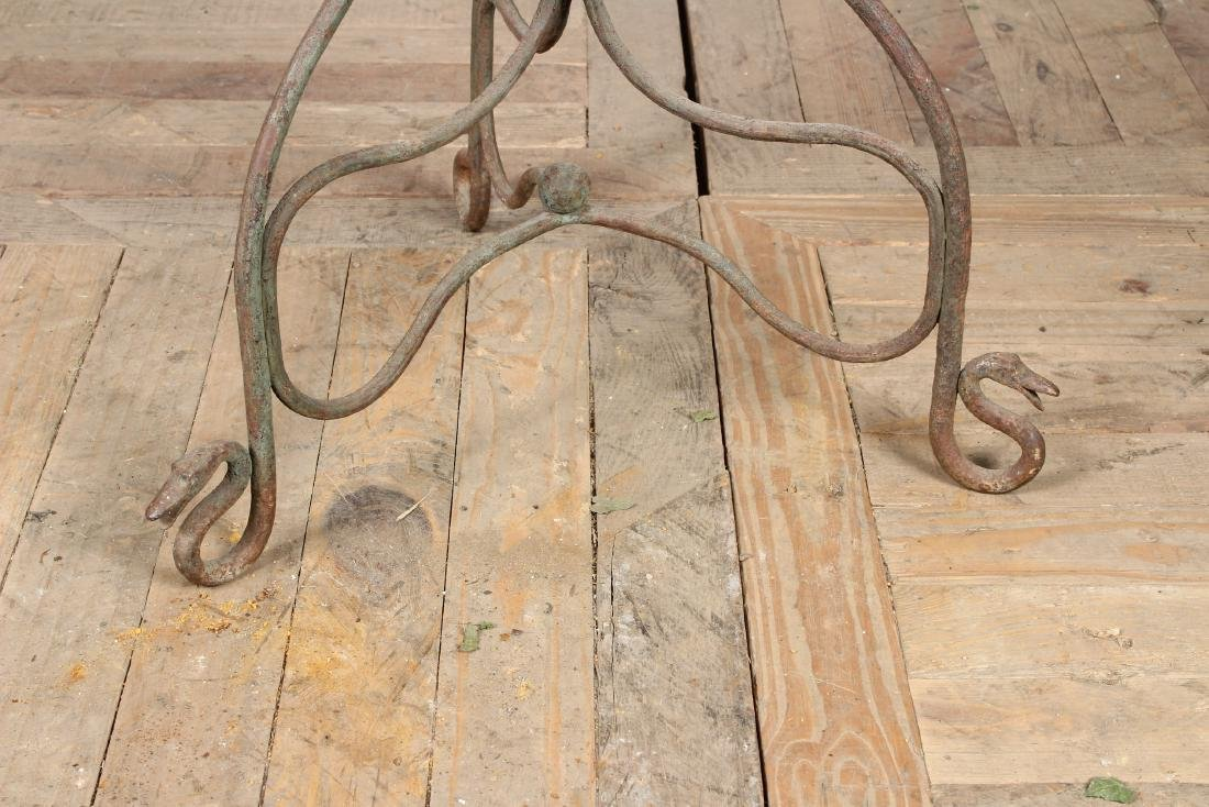 Early 20th C Wrought Iron Planter - 2