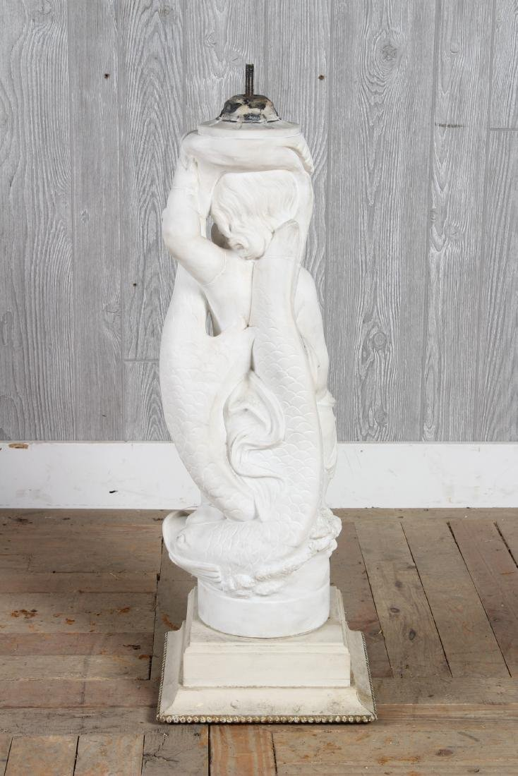 Marble Fountain Figure - 4