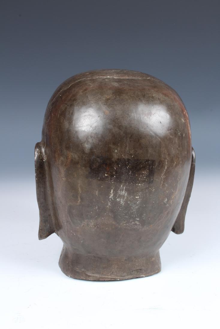 Soapstone Buddha Head - 3