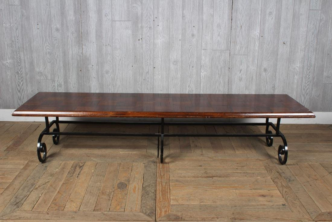 Wrought Iron Coffee Table Base