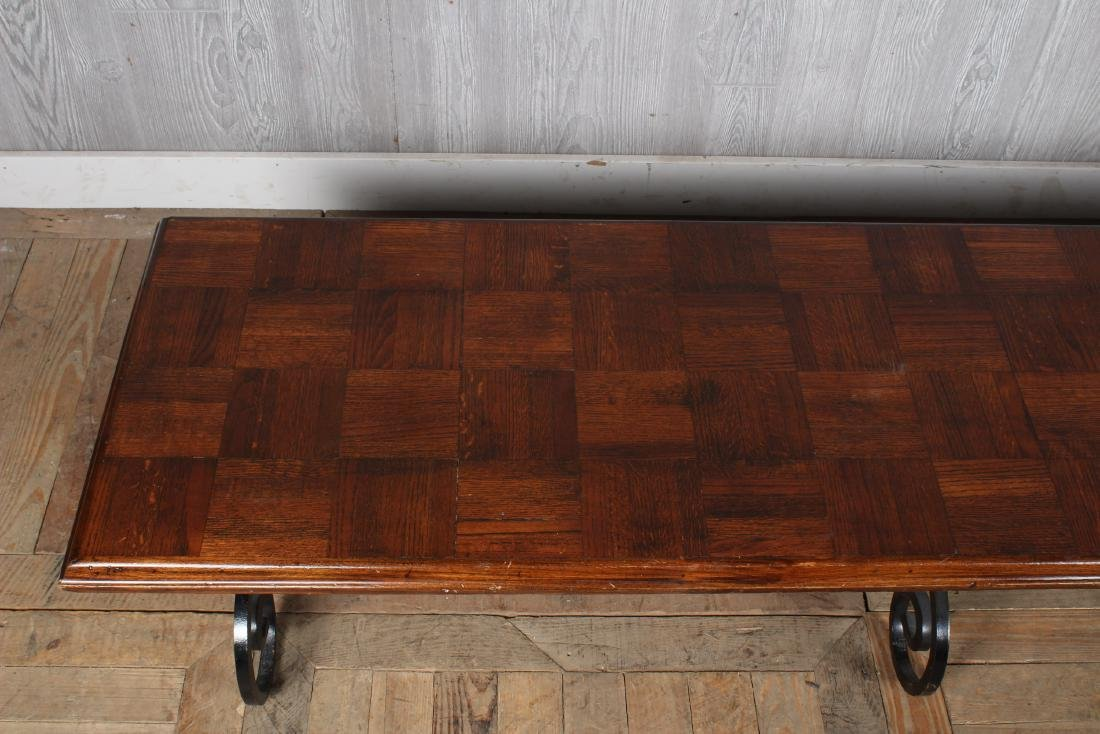 Wrought Iron Coffee Table Base - 2
