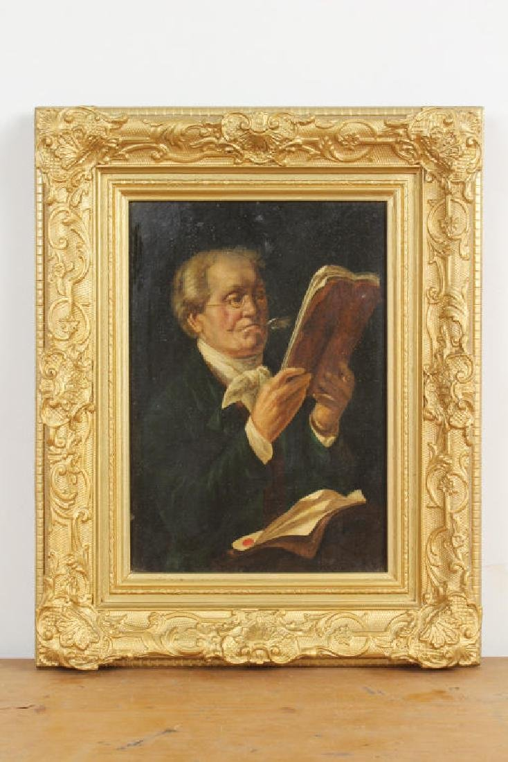 Painting Signed Burns